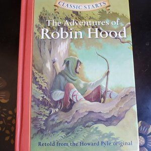 The Adventures of Robin Hood Book, Howard Pyle HC